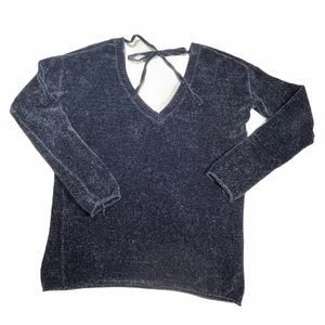 Indigo Oversized XS Soft Fluffy Garage Sweater